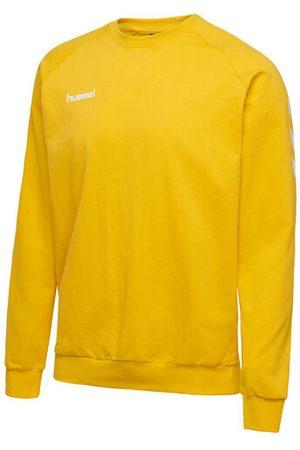 Hummel Herren Shirts - HMLGO COTTON SWEATSHIRT, SPORTS YELLOW, S