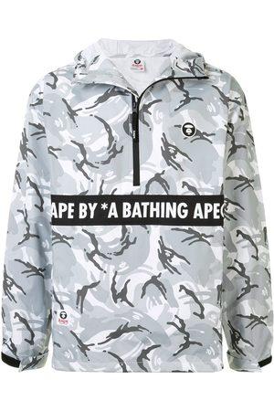 AAPE BY A BATHING APE Windbreaker mit grafischem Print