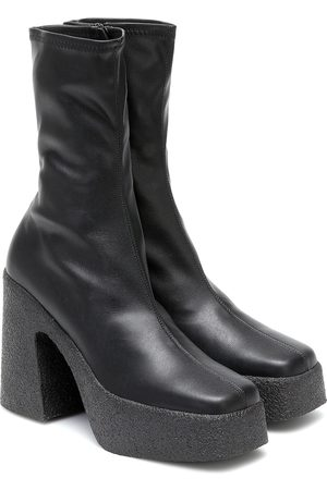 Stella McCartney Ankle Boots aus Lederimitat