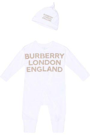 Burberry Baby Set Cleo aus Strampler und Mütze