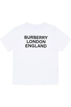 Burberry T-Shirt aus Baumwoll-Jersey