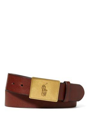Polo Ralph Lauren Ledergürtel mit Ponyschnalle