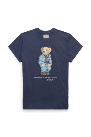 Polo Ralph Lauren Rundhals-T-Shirt mit Polo Bear