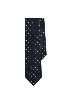 Ralph Lauren Seidensatin-Krawatte mit Punkten