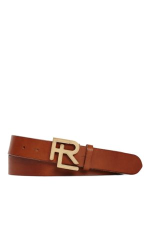 Ralph Lauren RL-Gürtel aus Vachetteleder