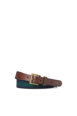 Polo Ralph Lauren Stretchgürtel mit Lederbesatz