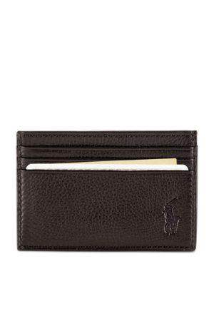 Polo Ralph Lauren Kartenetui aus Narbenleder