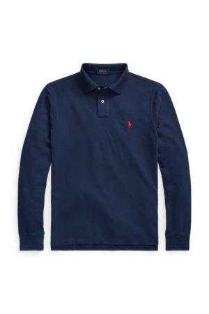 Polo Ralph Lauren Slim-Fit Langarm-Polo aus Piqué