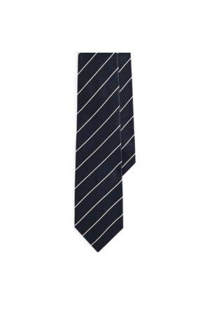 Ralph Lauren Gestreifte Krawatte aus Seidensatin