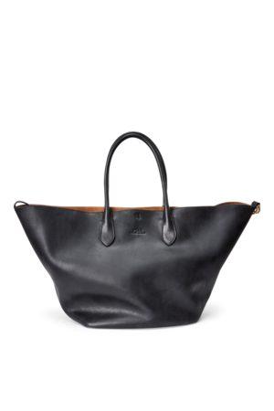 Polo Ralph Lauren Große, wendbare Ledertragetasche