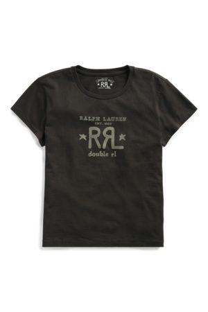 RRL T-Shirt mit Rundhalsausschnitt