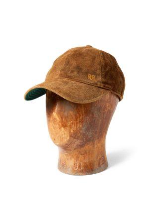 RRL Baseballkappe aus Wildleder