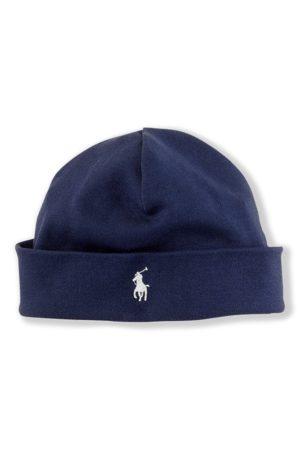 Ralph Lauren Mütze aus Baumwoll-Interlock