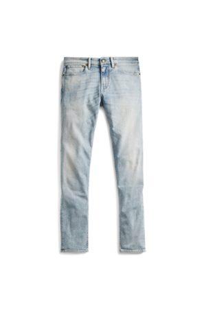 Ralph Lauren Ausgebleichte Skinny-Fit Jeans