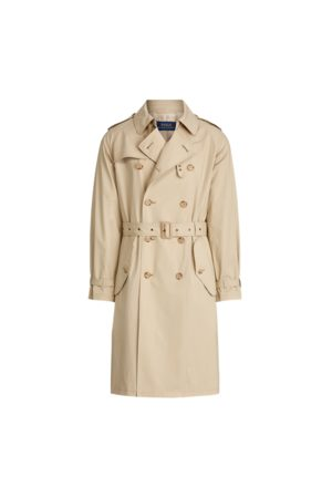 Polo Ralph Lauren Trenchcoat aus Baumwollstretch