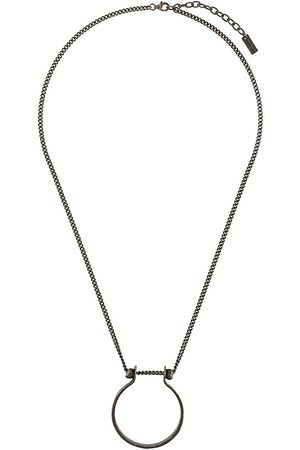 Saint Laurent Halskette mit hufeisenförmigem Anhänger