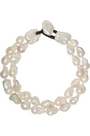 Monies Damen Halsketten - Doppelsträngige Halskette