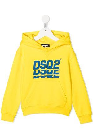 Dsquared2 Jungen Sweatshirts - Kapuzenpullover mit Logo-Print