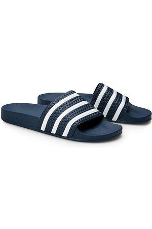 adidas Herren Sandalen - Adilette in dunkelblau, Sandalen für Herren