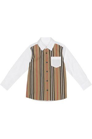 Burberry Hemd aus Stretch-Baumwolle
