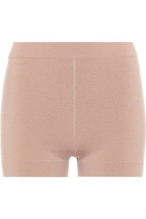 Alaïa Shorts aus einem Wollgeschmich