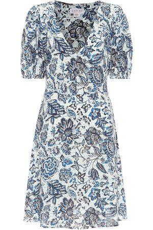 Velvet Damen Bedruckte Kleider - Bedrucktes Minikleid Shani
