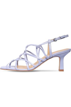 Aeyde Damen Sandalen - 65mm Celia Leather Sandals