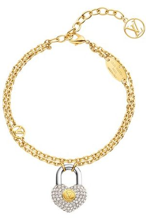 LOUIS VUITTON Damen Armbänder - Crazy In Lock Strass Supple Armband
