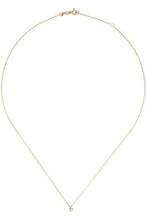 Milka 14kt Rotgoldhalskette mit Diamanten