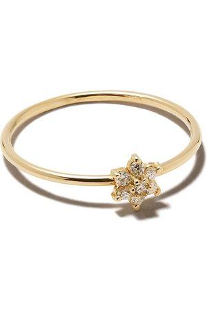 Zoe Chicco 14kt Gelbgoldring mit Diamanten