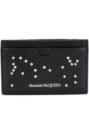 Alexander McQueen Kartenetui mit Kristallen
