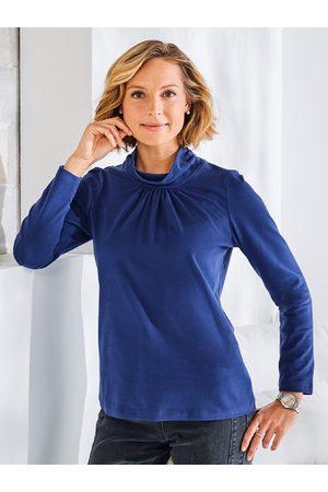Avena Damen Skiunterwäsche - Noch offen: Marke Damen Wohlfühl-Thermo-Shirt Rollkragen