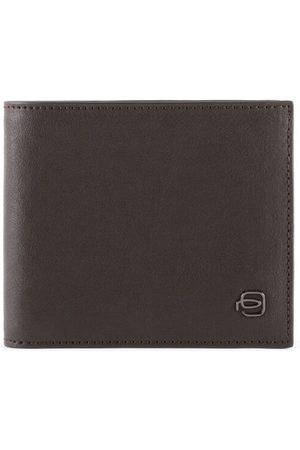 Piquadro Black Square Geldbörse Leder 11,5 cm, dark brown