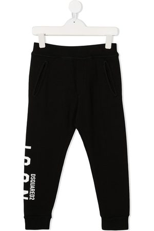 Dsquared2 Jungen Lange Hosen - Jogginghose mit Logo-Print