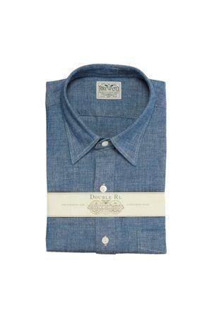 RRL Slim-Fit Anzughemd aus Chambray