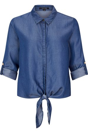 Comma, Light Denim-Bluse