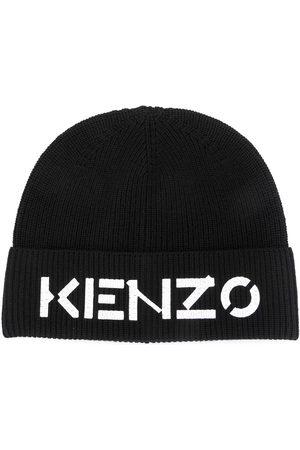 Kenzo Hüte - Mütze mit Logo-Print