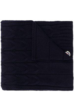 Moncler Schal mit Zopfmuster
