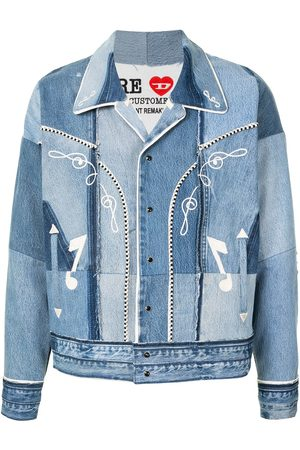 Diesel Red Tag X Readymade Patchwork-Jeansjacke