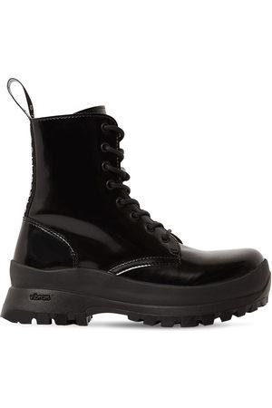 Stella McCartney Damen Stiefeletten - 30mm Trace Faux Leather Ankle Boots