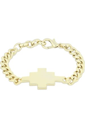 MARCELO BURLON Kettenarmband Mit Kreuz-logo