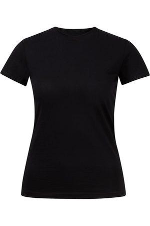 Vince Baumwoll T-Shirt mit Rundhalsausschnitt Dunkelblau