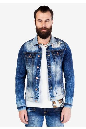 Cipo & Baxx Jeansjacke im modernen Washed-Design
