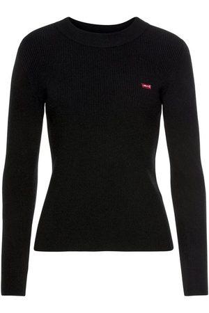 Levi's Strickpullover »Crew Rib Sweater« mit Batwing Logo