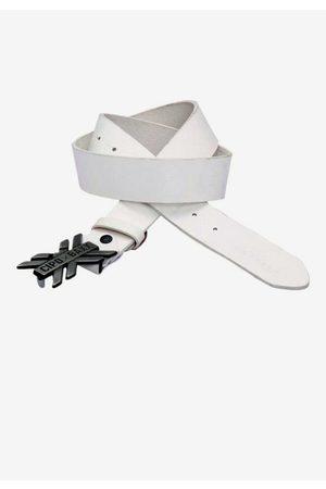 Cipo & Baxx Ledergürtel mit auffälliger Schnalle