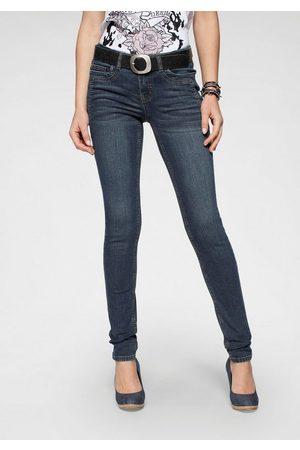 ARIZONA Skinny-fit-Jeans »mit Keileinsätzen« Low Waist