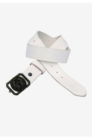 Cipo & Baxx Ledergürtel mit extravaganter Schnalle