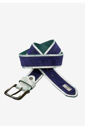 Cipo & Baxx Ledergürtel mit coolen Glitzerdetails
