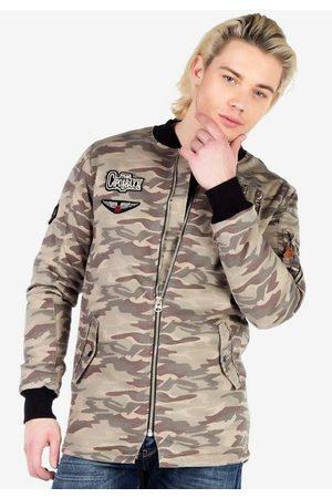 Cipo & Baxx Outdoorjacke im angesagten Military-Style