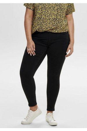 Carmakoma Skinny-fit-Jeans mit Reißverschluss am Beinabschluss